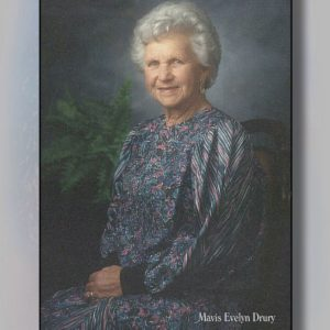 Drury, Mavis Evelyn